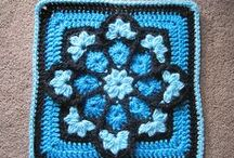 Crochet granny & Afghan squares