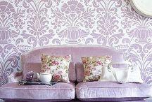 color palettes | lilac rose purples / inspirational tints and hues in lilac, lilac-rose to purple