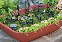 Yard decor / Fairy gardens