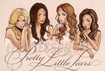 pretty little liars / my other fAve tv show • cast, scenes