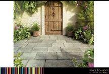 Gardens and Stone Flooring
