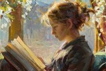 The ART of READING! / Simply capturing subjects in the act of reading / by Ingrid Gour
