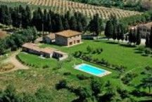 Tenuta di Montecucco / Farmholiday in the Tuscan #Maremma A large park with olive trees and native species sorrunds the pool with overlooks The Ombrone Valley. 10 apartments consisting of double bedrooms, bathroom with shower, lounge and kitchen. All apartment are equipped with satellite Tv, free Wi-fi and a kettle with tea and coffe service #ColleMassari