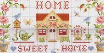 Home Sweet Home / Samplers for making your house a Home.