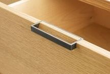 Drawer pulls and cabinet knobs