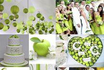 Color Verde / Ideas para una boda verde. Green Weddings