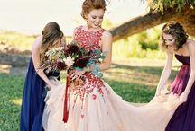 Vestidos Colores / Vestidos de Novia de Colores