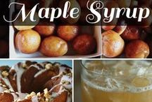 MMMmmmMaple! / How to create decadent dishes with 100% Pure Vermont Maple Syrup!