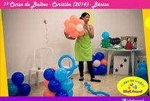 Curso de Balões / Seja um Decorador de Sucesso! Curso de Arte em Balões - Presencial e Online Venha aprender comigo: www.sibeliamaral.com.br