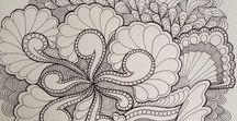 ✂ DOODLE Patterns & Designs ✂