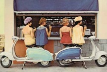 Retro Cars and Scooters
