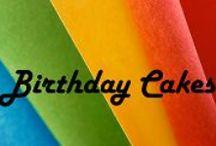 Birthday Cakes / Birthday Cake Ideas for the Family