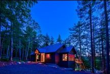 """Birch Grove / One of our amazing rental cottages """"Birch Grove""""  This perfect family getaway has everything you'll need to make lasting family memories.  A crackling bonfire during the cool evening, fantastic fishing, 11 acres to explore, this cottage has it all!  www.serenityvacationrentals.ca"""