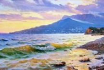 Paintings as Landscape & Seascape... any medium...