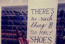 Shoes speak louder than words...