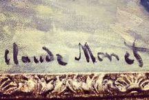 CLAUDE MONET / by josiane TEXIER