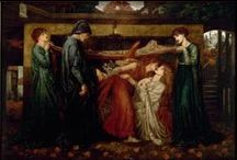 Pre-Raphaelites / Paintings from our collections by artists from the Pre-Raphaelite movement, from Rossetti to Holman Hunt. Not all of the paintings here are on display at the gallery. / by Walker Art Gallery