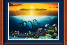 Wyland's gallery / Painting  / by B. Baterina
