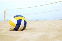#volleyball / Sport: volleyball