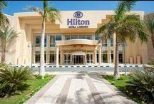 فندق هيلتون لونج بيتش, الغردقة بمصر / يقع على طريق سهل حشيش