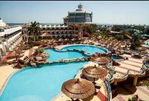 فندق سيجال بيتش ريزورت, الغردقة بمصر / يقع الفندق في علي بعد 10 كم من مطار الغردقة بشارع الشيراتون