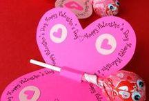 Kreativer Valentinstag / Selbstgemachte Geschenke von Herzen zum Valentinstag von und für kleine und große Verliebte