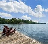 Six Mile Smiles / Six Mile Smiles is one of the Ontario cottage vacation rentals offered by Serenity Vacation Rentals.   This three bedroom cottage is located on beautiful Six Mile Lake in Muskoka Ontario.    Enjoy your coffee on the dock before a sunny afternoon of swimming and fishing, followed by a nighttime campfire and a comfortable nights sleep!