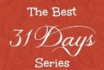 Best 31 Days Series - 2013 / Collection of the best '31 Days Series' posts from around the web
