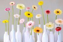 Ideas con flores / Algunas ideas divertidas para decorar con flores naturales