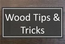 Wood Tips & Tricks / Tips and tricks on wood floor maintenance for your kitchen, dining room, living room, hallway, or other interior spaces.