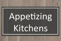 Appetizing Kitchens / Let's be honest - we all know the kitchen is a highlight - if not THE highlight - of a home. We're collecting some of our best kitchen finds here. Feel free to enjoy the eye candy with us.