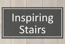 "Inspiring Stairs / Stairs can be so much more than just a way to get from Point A to Point B. Many stairs are a piece of art all to themselves.  We've collected some of our favorite and ""uplifting"" stairs just for you."