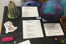 Space / lessons and activities on the solar system, stars, and galaxies