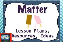 Matter (density and states of matter) / lessons and activities on density and matter