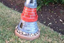 Lighthouse ideas / Garden light house ideas