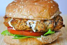 Hearty Veggie Burgers