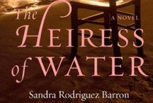 The World of The Heiress of Water / Imagery (women, #seashells & the #sea) relating to the web of ideas behind the novel #TheHeiressofWater by #Sandra Rodriguez Barron.