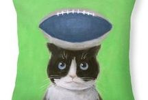For Seahawks Fans / Seahawks theme products with my paintings