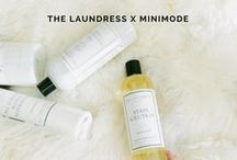 THE LAUNDRESS X MINIMODE / Find out how we keep baby's clothes soft and snuggly with our favorite laundry products by eco-friendly brand, The Laundress.
