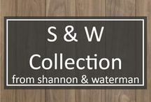 S & W Collection / Made exclusively with American hardwoods grown in our family forests, our designer collections offer the quality and craftsmanship of Shannon & Waterman's custom wide plank floors at affordable price points.