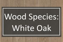 Wood Species: White Oak / The mighty White Oak is the most sought after species of hardwood for custom wide plank flooring at Shannon & Waterman.  One of the hottest trends in home design is a clean, modern space and White Oak achieves this look perfectly.  Premium White Oak has less prominent graining than many other species and its mineral streaks give a more contemporary look.