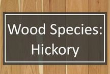 Wood Species: Hickory / Hickory is growing in popularity as a choice custom wide plank flooring.   Hickory is resilient, and is the toughest of the commercial hardwoods produced in America.  Although Hickory is not the hardest or the strongest wood available, its unique combination of attributes sets it apart from the crowd, making it a perfect choice for hardwood flooring.