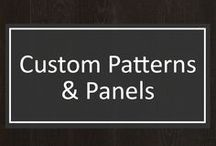 Custom Patterns & Panels / Shannon & Waterman can customize any part of your wood flooring to provide a completely seamless look. From custom patterns and panels, S&W can provide the look you desire. Available upon request.