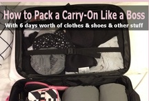 Trip Tips - Travel / Packing, organization and more. Travel is one of my favorite things!   / by Janet Roe {KY Klips}