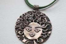 Harapati. My metal clay jewelry