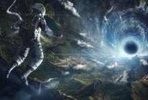 Art - Science Fiction / Tech and magic on unknown worlds.