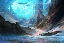 Inspiration - Project Water - Places / Inspiration for the settings of my epic fantasy series.