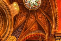 Places - Fantasy Settings - Cathedrals, Mosques, Temples, Monasteries / Holy places for this and other worlds.