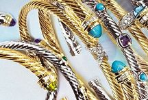 Jewels and gems / Jewelry: bracelets, earrings, and more / by Bailey Hannon