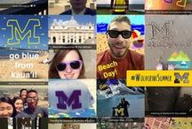 UofMichigan Snapchat / Photos screenshotted from our very own Snapchat. Follow uofmichigan!